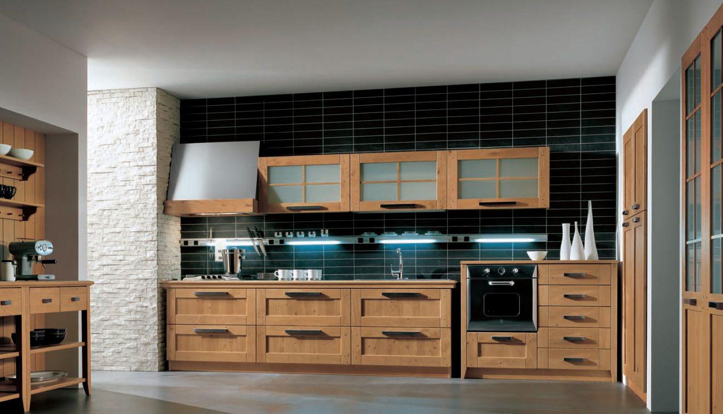 Puertas de madera - Puertas para cocina | Agloma