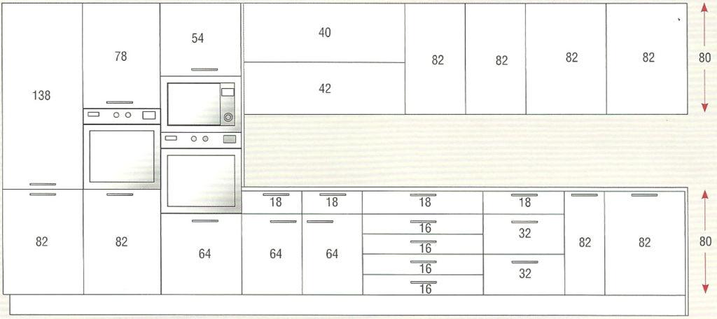 M dulos de cocina muebles de cocina a medida modulos for Modulos para cocina