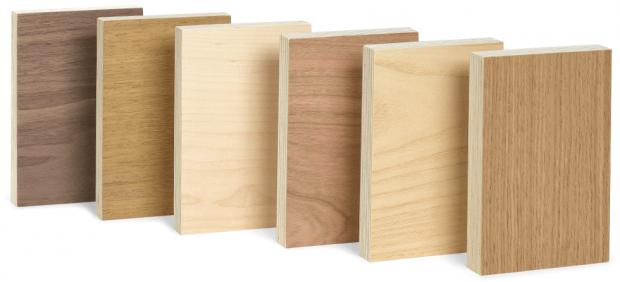 Tableros de madera rechapados - Muebles a medida