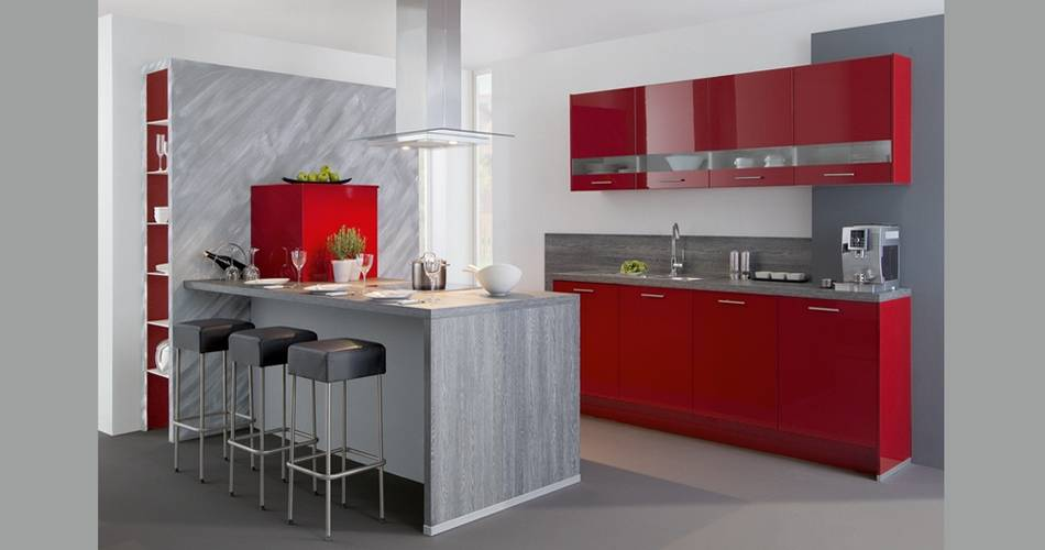 Cocinas modernas2 1 agloma - Puertas de cocina rusticas ...