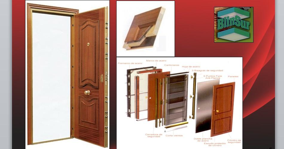 Puertas blindadas agloma for Puertas blindadas