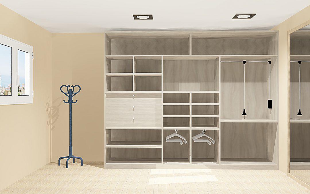 Vestidores y armarios Agloma, soluciones funcionales a tus necesidades