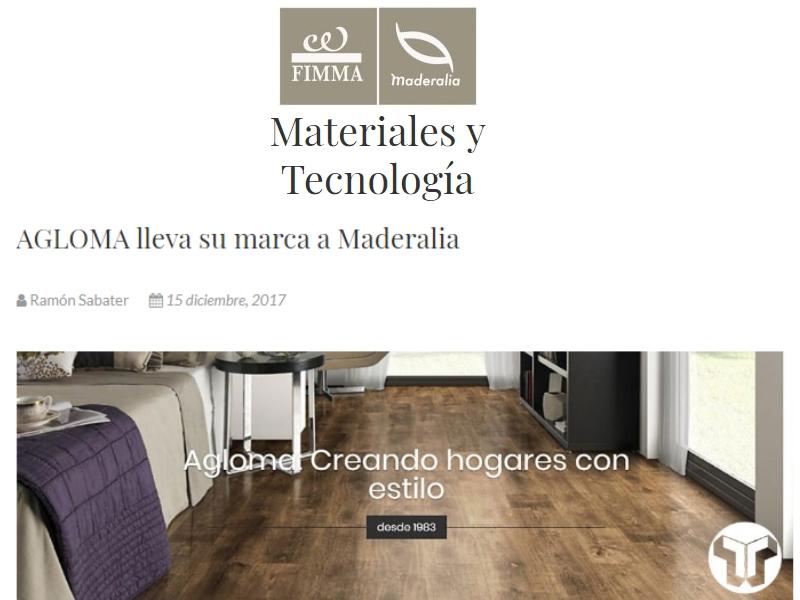 Agloma lleva su marca a Maderalia