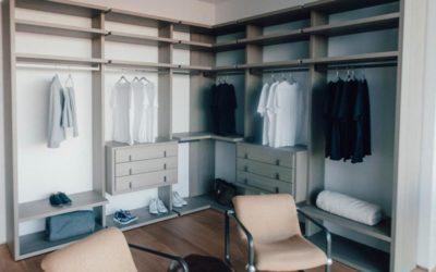 Cómo plantear el diseño del interior de tu armario a medida