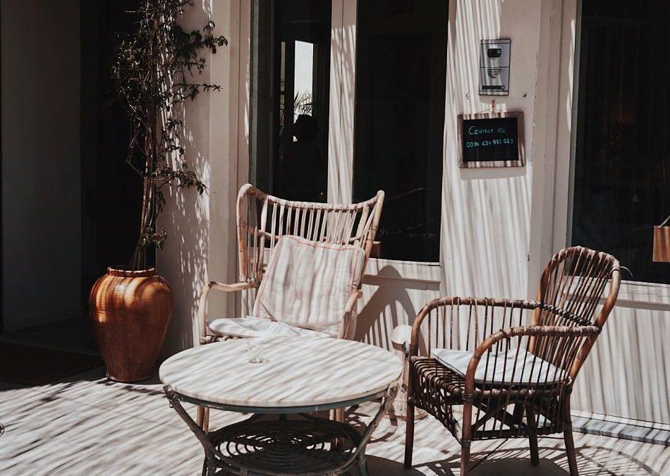 Imprescindibles para tu terraza en primavera y verano